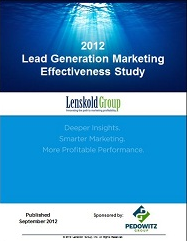 Lenskold Group/Pedowitz Group Study Reveals Benefits Of Integrated Marketing Automation