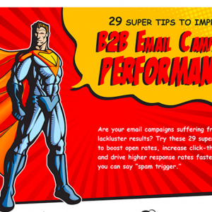 29 Tips To Improve B2B Email Campaign Performance [Infographic]