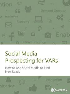 Social Media Prospecting for VARs Workbook